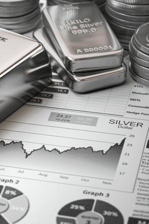Zilver aandelen