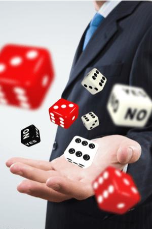 Beleggen is geen gokken