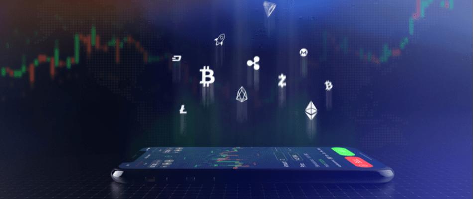 Crypto handelen op een CFD handelsplatform