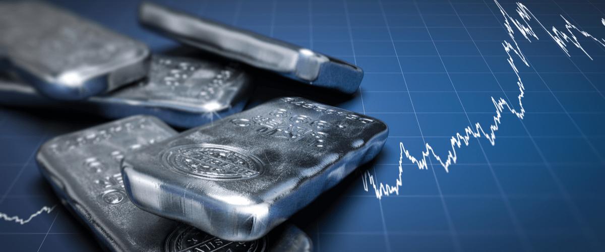 Zilverkoers, prijs van zilver